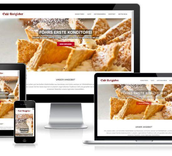 Cafe-Steigleder - WordPress Website