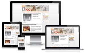 Gütekerzen - TYPO3 Website