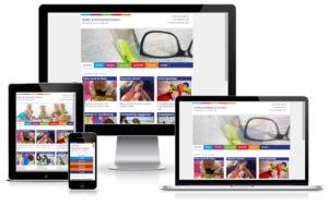 Kurse & Veranstaltungen - TYPO3 Website