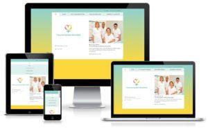 Frauenarztpraxis Wandsbek - TYPO3 Website