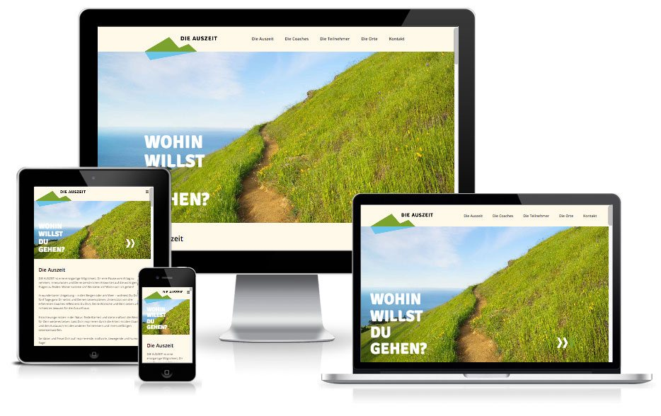 DIE AUSZEIT - WordPress Website