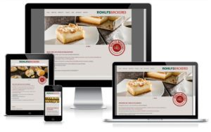 ROHLFS Bäckerei - WordPress Website