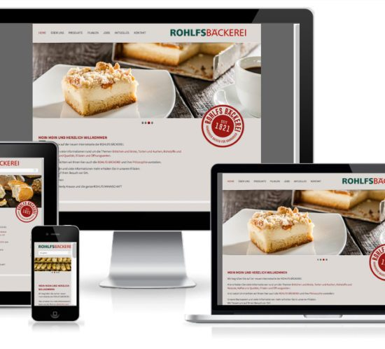 wordpress responsive baeckerei