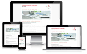 Büroservice - WordPress Website