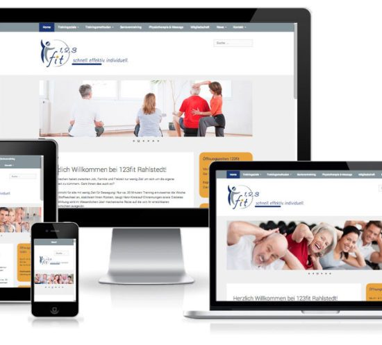 wordpress responsive fitnessstudio