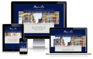 Maison Blu Immobilienagentur - WordPress Website