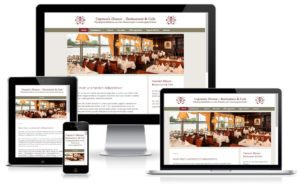 Captains Dinner - WordPress Website