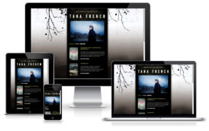 Tana French - TYPO3 Website