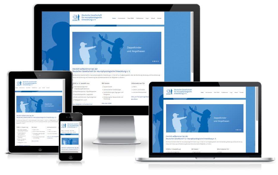 Deutsche Gesellschaft für europhysiologische Entwicklung e.V. - WordPress Website