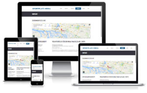 SPM Sportplatzmedia - WordPress Website