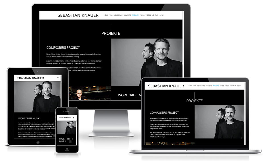 Sebastian Knauer - WordPress + Webdesign