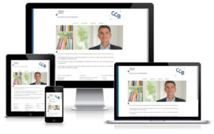 CC Beratung - WordPress Website