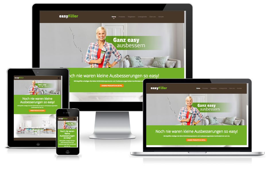 Easy Filler - WordPress Website