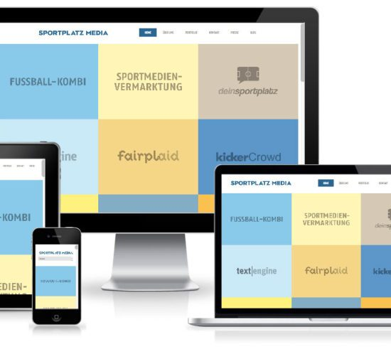 SPM Sportplatzmedia - WordPress Website