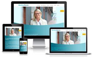 Martina Martin Coaching - Wordpress Website