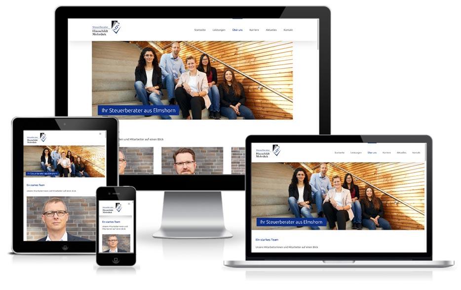 HUH Steuerberater - WordPress Website