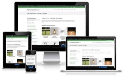 Gartenleuchten.de Wordpress Woocommerce Shop