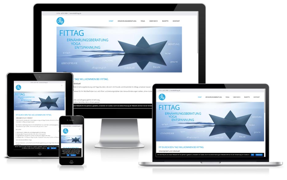Wordpress Webdesign fittag