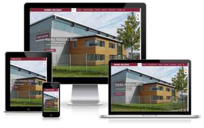 HARMS HOLZBAU Webdesign Wordpress
