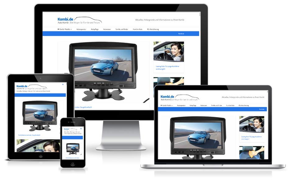 Wordpress Webdesign Kombi.de