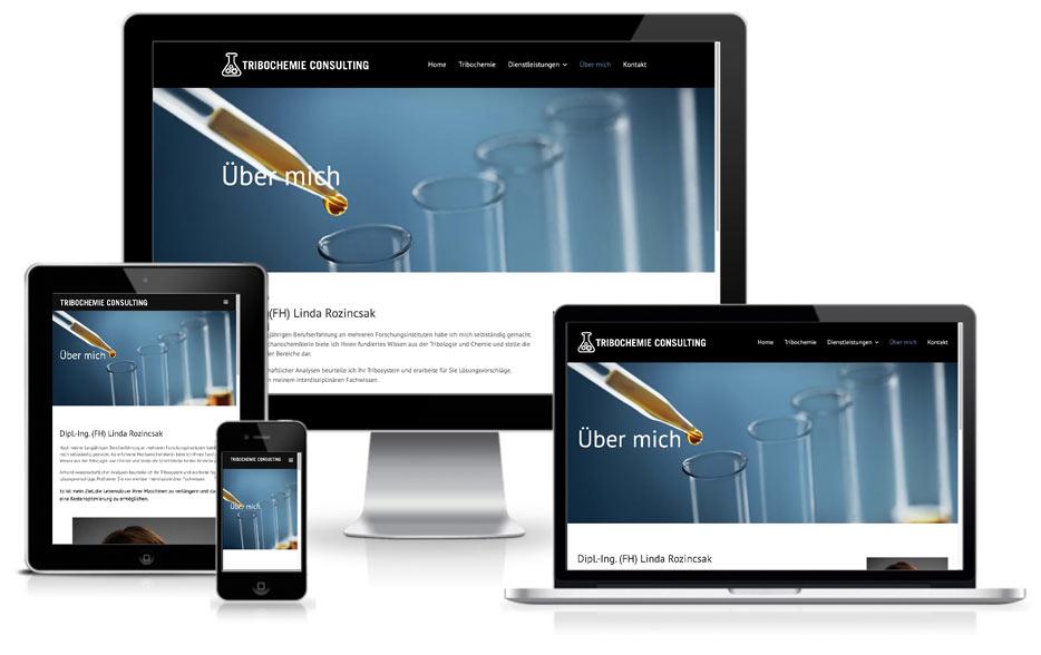 Tribochemie Wordpress Webdesign Website