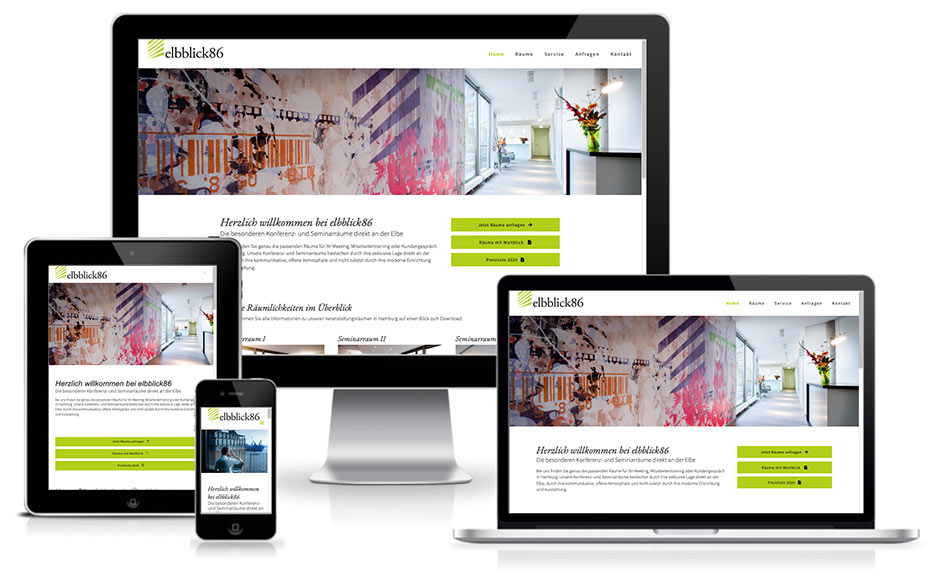wordpress webdesign elbblick86
